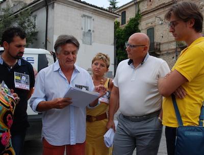 Gabriele Bettoschi Carmelita Bellini Sindaco D'Andrea e Assessore Recchia