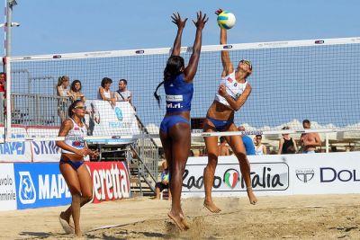 attacco beach volley