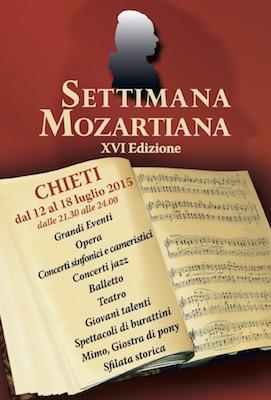 Settimana Mozartiana 2015 a Chieti
