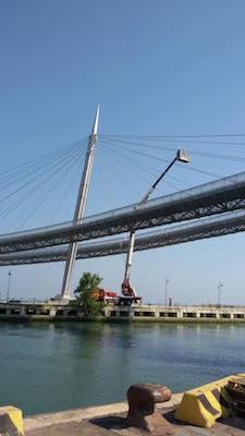 lavori ponte del mare Pescara