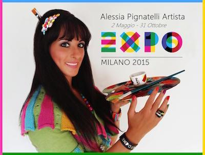 Alessia Pignatelli a Expo 2015