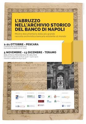 L'Abruzzo nell'archivio storico del Banco di Napoli