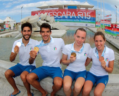 Medagliati italiani Aquathlon