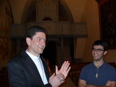Mons. Baruffi e don Federico