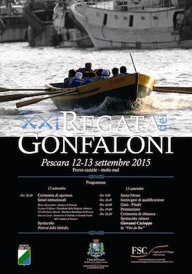 Regata dei Gonfaloni 2015 Pescara