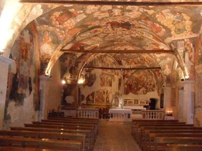 Santuario d'Appari, interno