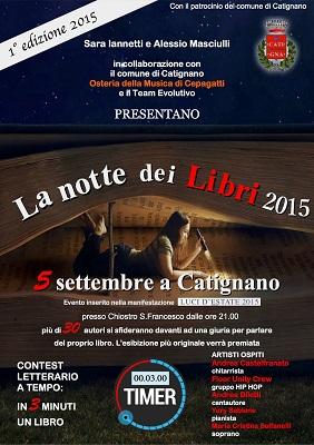 notte dei libri 2015 Catignano