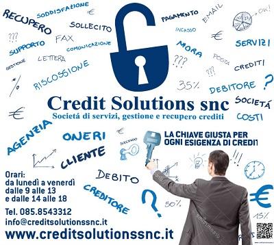 Recupero Crediti Abruzzo Credit Solutions Snc