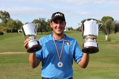 Luca Cianchetti vincitore Abruzzo Open