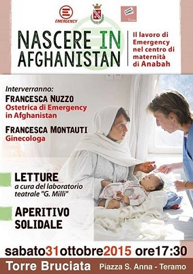 Nascere in Afghanistan a Teramo