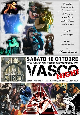 Vasco Night a Chieti