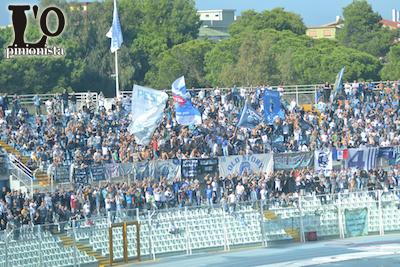 Crotone-Pescara 4-2 tifosi biancazzurri