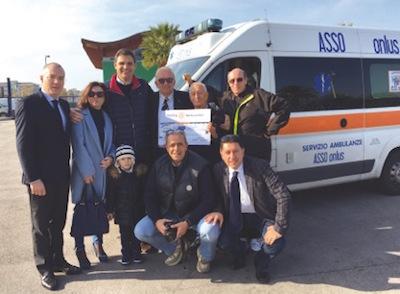 Consegnati i fondi per l'Ambulanza dei desideri