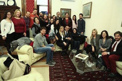 Coworking, il sindaco Alessandrini incontra i 25 promotori di Start hub