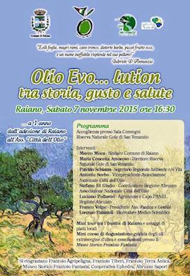 Olio Evo.........lution tra storia, gusto e salute.