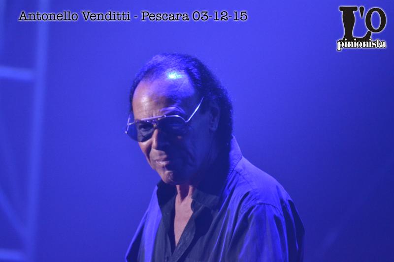 Antonello Venditti in concerto a Pescara
