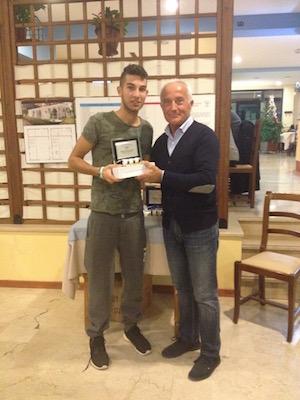 Gianluca Di Donato 2° class. con direttore sportivo Armando Risi