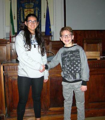 Giulia Mennilli e Riccardo Bascelli