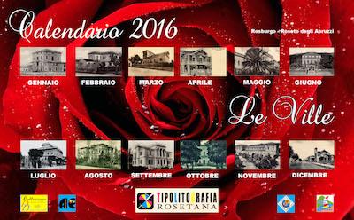 Roseto degli Abruzzi, il calendario 2016 dedicato alle ville storiche