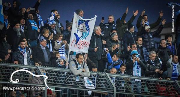 Pro Vercelli - Pescara: informazioni per i tifosi biancazzuri