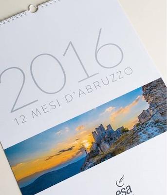Calendario Dodici mesi d'Abruzzo