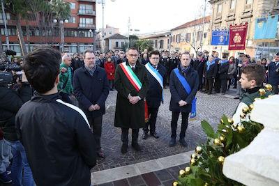 Cerimonia in memoria di Emilio Alessandrini