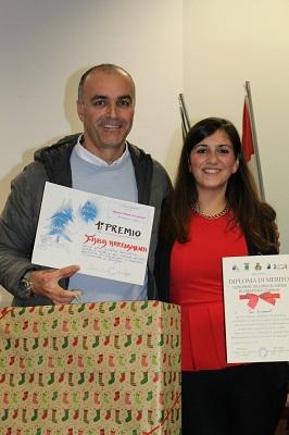 Dario Faba con l'assessore Annalisa Palozzo
