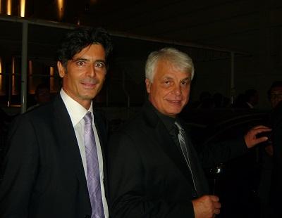 Davide e Michele Placido al Festival di Venezia