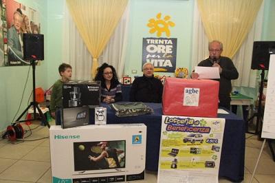 Festa all'AGBE per l'estrazione dei premi abbinati alla lotteria di beneficenza