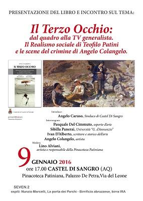 Il terzo occhio presentazione libro a Castel di Sangro