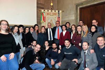 Milano, delegazione ricevuta dal sindaco Pisapia per il progetto di coworking StartHub