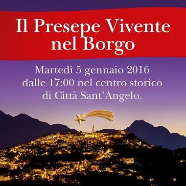 Presepe Vivente 2016 a Città Sant'Angelo