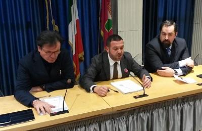 conf stampa forza Italia del 7 gennaio 2016