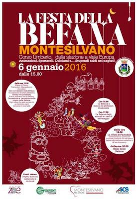 festa befana 2016 Montesilvano
