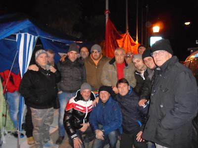 foto protesta precari Attiva a Pescara