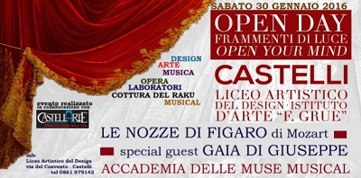 open day Castelli
