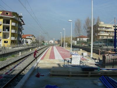 sottopasso stazione Chieti