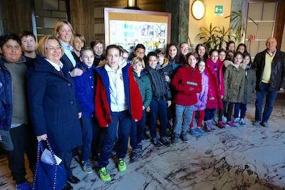 Pescara studenti delle scuole primarie