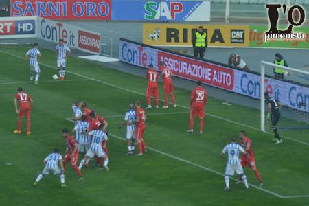 punizione Pescara