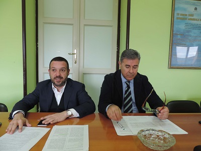 Conferenza stampa odierna Capigruppo Forza Italia Comune di Pescara Antonelli e Regione Abruzzo Sospiri su 'Legge sismica e blocco dell'edilizia'
