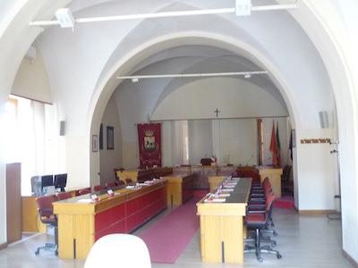 Sala consiliare del Comune di Giulianova