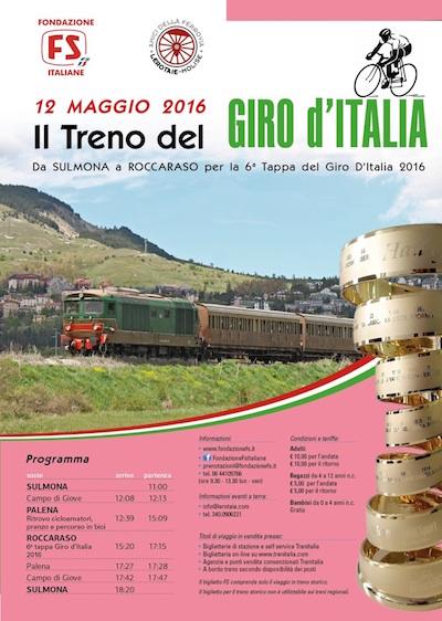 Giro d'Italia - corsa speciale sulla Transiberiana d'Italia
