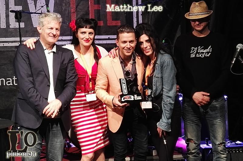 Matthew Lee premiato