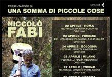 Niccolo Fabi tour in concerto a Pescara