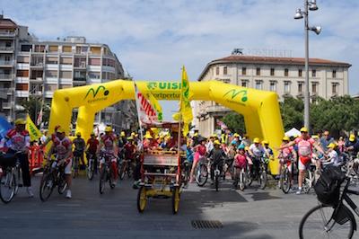 Pescara, migliaia di cittadini a Bicincittà