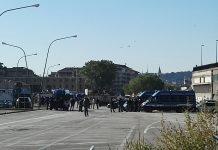 Pescara sgombero stazione