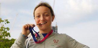 Simona Corrado Bronzo Europei Master