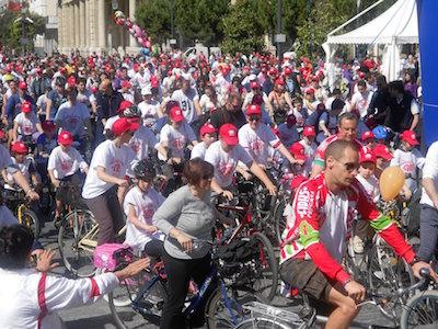 bici in cittàa Pescara