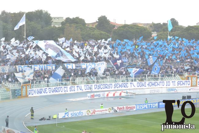 tifosi curva nord Pescara
