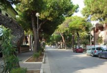 viale Orsini a Giulianova